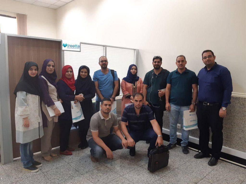 بازدید اعضای هیات علمی دانشگاه های کشور عراق از تریتا