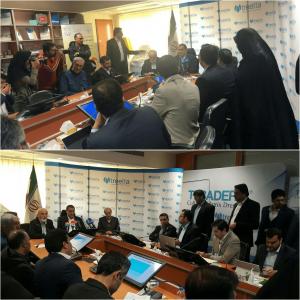 رونمایی وزیر محترم بهداشت از پانسمان ماتریکس کلاژن طبادرم