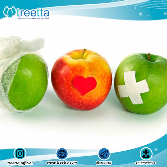 نقش تغذیه در بهبود زخم