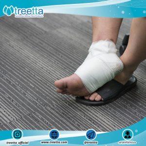 مراقبت از زخم پا