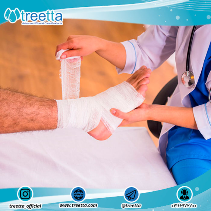 مراقبت از زخم و هشدارها و توصیه هایی در مورد روند بهبود زخم