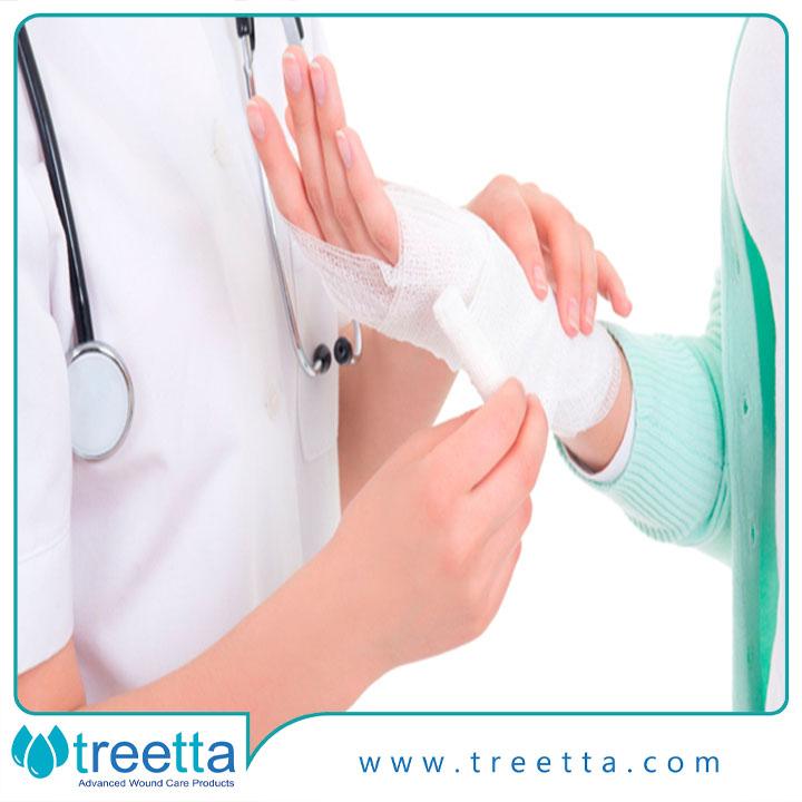 درمان زخم سطحی پوست